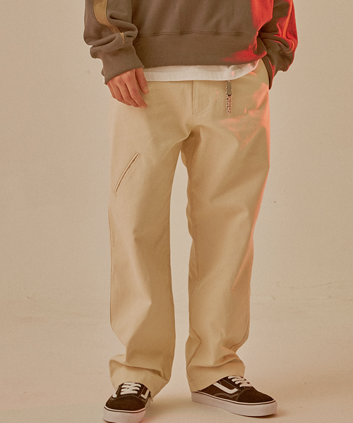 5P21 (regular fit pants beige)